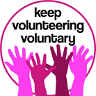 Keep Volunteering Voluntary Logo